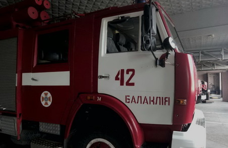 Дві пожежі сталися на Харківщині через пічне опалення