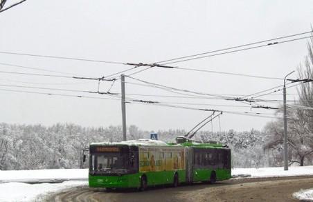 Тролейбуси №34 та 42 курсуватимуть іншими маршрутами
