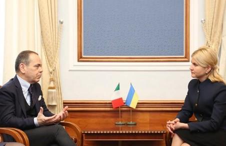 Запрошуємо представників італійського бізнесу на Харківщину - Світлична