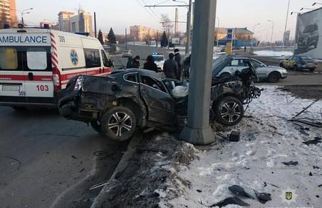 У Харкові через ДТП загинули дві людини