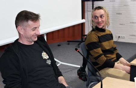 У Харкові презентували дебютний кліп Жадана «Де твоя лінія?»