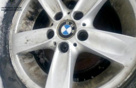 У Харкові викрили крадіжника автомобільних коліс