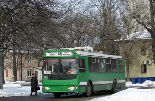 Тролейбусів на Східний у четвер ждати не варто – відключили електрику
