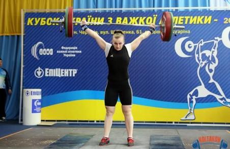 Важкоатлети з Харкова здобули 11 медалей на Кубку України