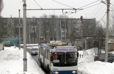 Тролейбуси №19, 20 і 24 певний час їздитимуть іншим маршрутом