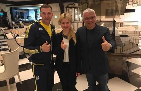 Світлична домовилася з ФФУ про проведення в Харкові матчу Україна - Чехія