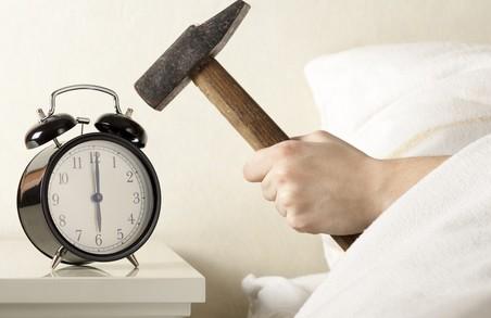 Скоро харків'яни спатимуть на годину менше