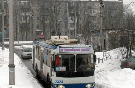 Кілька харківських тролейбусів змінять шлях прямування