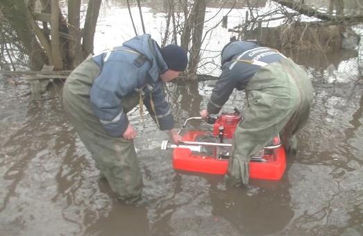 На Харківщині позатоплювало школи та будинки