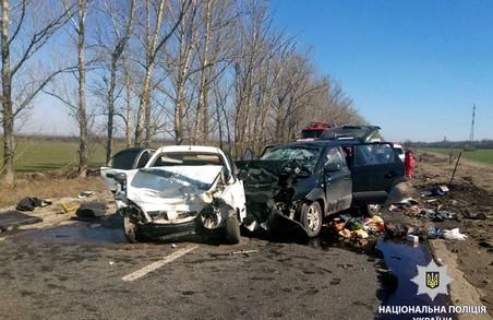 На Харківщині в результаті ДТП загинули люди