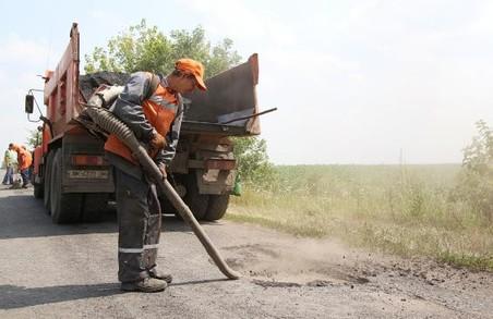 Де на Харківщині триває ямковий ремонт доріг: перелік