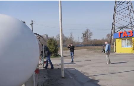 У Харкові активісти зупинили діяльність небезпечної газової заправки на Салтівці