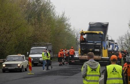 Автомобілістам на Дергачівщині буде подарунок на свята у вигляді першої ділянки дороги на Охтирку