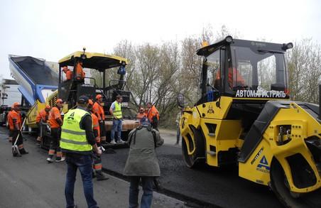 Служба автомобільних доріг Харківщини взялася за шлях на Куп'янськ