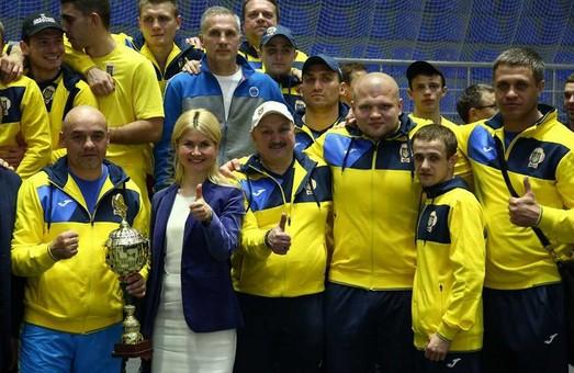 «У Харкові інакше не буває»: Світлична привітала переможців міжнародного боксерського турніру