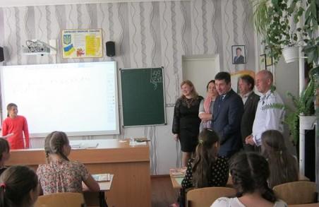 Цього року коштом обласного бюджету для Троїцького НВК було придбано кабінети географії та математики