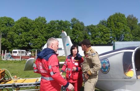 Як на Харківщині льотчики-добровольці рятують людей (Фото)