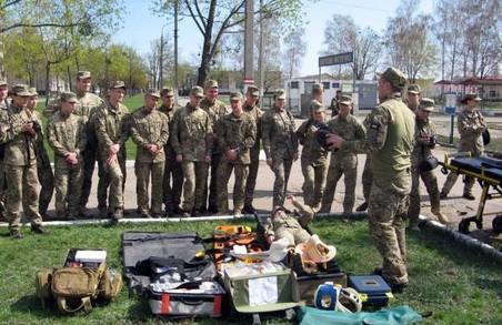 Майбутні військові медики практикувалися у Харкові: фото