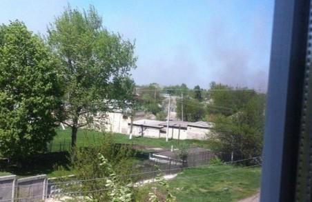 Пожежу в Балаклії ліквідовано