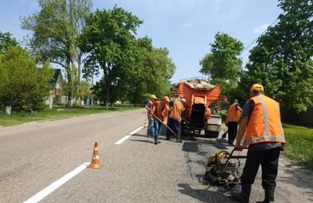 Шляховикам залишилося відремонтувати одну ділянку, щоб в'їзд у Куп'янськ був гладким і комфортним