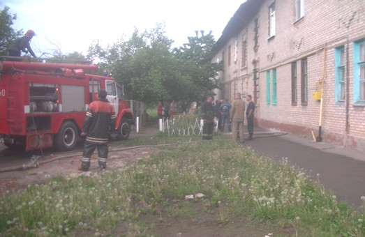 На Харківщині від вогню було врятовано трьох людей