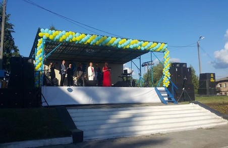Юлія Світлична поспілкувалася із мешканцями на святі Богодухівського району