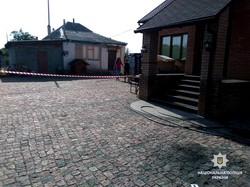 На подвір'ї харківського домоволодіння стався вибух