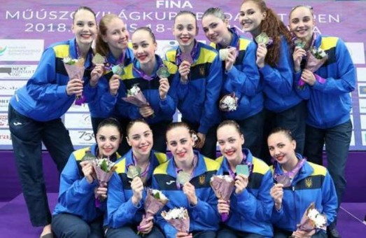 Харківські синхроністки привезуть вісім нагород з Будапешту
