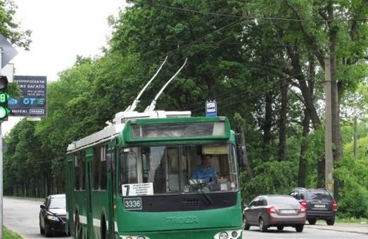 Певний час харків'яни не зможуть їздити тролейбусами  №7 і 46