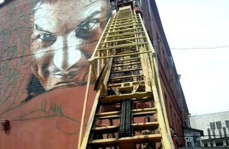 Скоро в Харкові буде завершений мурал з портретом Скрябіна