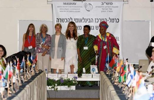 Юлія Світлична - учасниця Міжнародної конференції жінок-лідерів в Ізраїлі