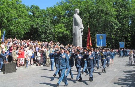 У Харківському національному університеті Повітряних Сил імені Івана Кожедуба випустили офіцерів: фото