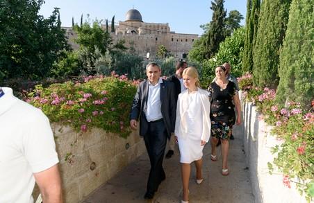 Світлична обговорила з керівництвом Ізраїлю подальшу співпрацю з Харківщиною