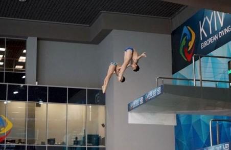 Харків'яни - кращі в Україні у стрибках у воду