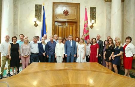 Журналісти Харківщини отримали грамоти та подяки від Світличної