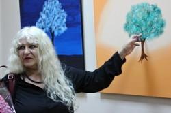 У Харкові ізраїльська художниця показала грань між духовним та буденним
