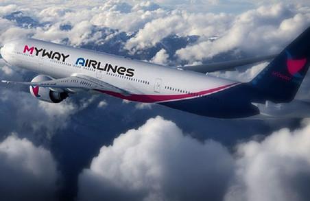 Авіакомпанія Myway Airlines запускає регулярні рейси між Тбілісі, Батумі і Харковом