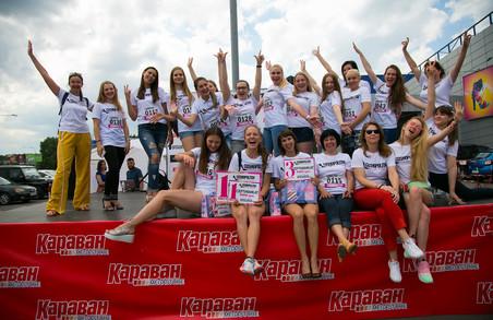 Українки  з Харкова, Львова, Дніпра, Одеси і Києва позмагаються у вмінні бігати на підборах
