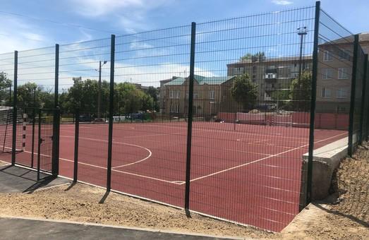 У Балаклійській школі відкриють сучасний спортивний майданчик