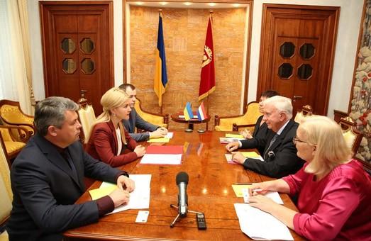 Домовились з Послом Нідерландів розглянути питання щодо відкриття Почесного Консульства у Харкові - Світлична