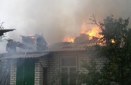 На Харківщині внаслідок пожеж загинули чотири людини