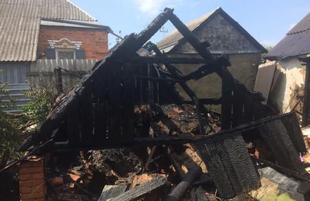 На Харківщині пожежні змогли врятувати житлові будинки від вогню