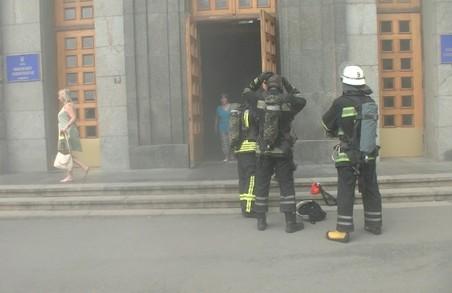 З Харківської міськради евакуювали людей