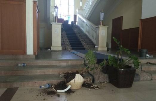 Обласне Управління СБ України не має жодного відношення до правопорушень, які відбулися сьогодні у будівлі Харківської міськради