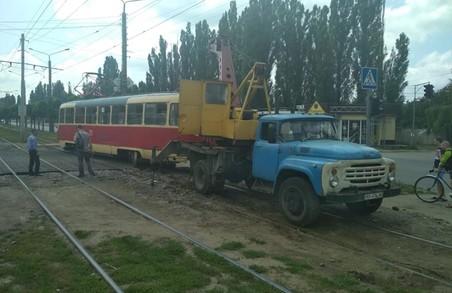 Нещодавно на трамвайній системі Харкова сталися дві аварії