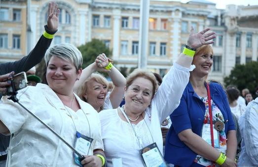 У Харкові відбувся рекордний флешмоб за участю освітян