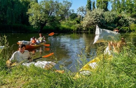 Волонтери хочуть подбати про чистоту річки Харків