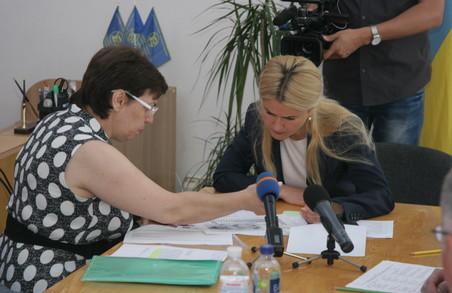 У Харківському національному університеті радіоелектроніки Юлія Світлична провела прийом громадян та нараду