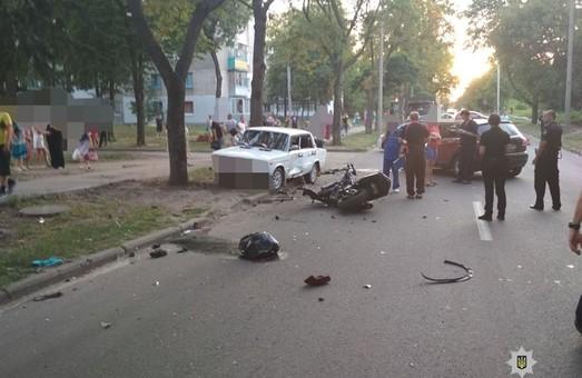 У Харкові сталася смертельна ДТП за участі мотоциклістів