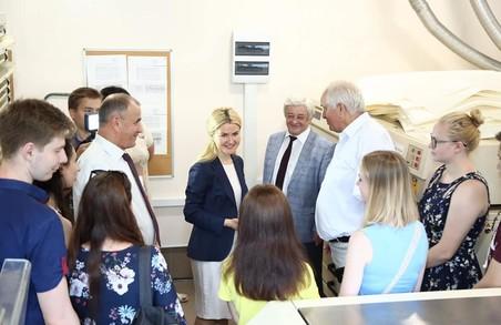 Завжди готова підтримати науковців - Світлична про прийом громадян у Харківському університеті радіоелектроніки
